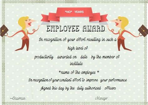 Service Anniversary Certificate Templates by Employee Anniversary Certificate Template 12