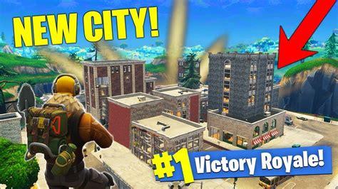 city map gameplay massive fortnite update