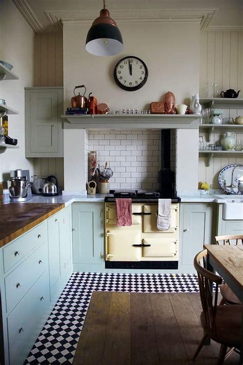 vintage country kitchen decor 乡村别墅图片大全厨房设计 土巴兔装修效果图 6791