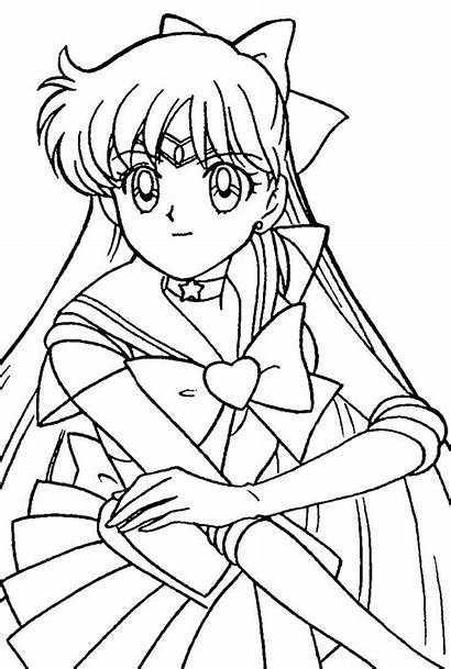 Coloring Pages Anime Adult Adults Sheets Moon