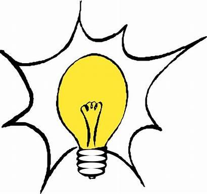 Bulb Clip Lightbulb Onlinelabels Sign Lighting Thinking