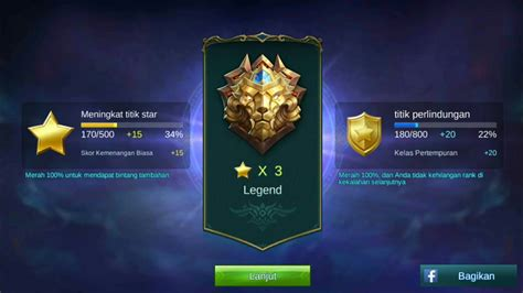 mobile legend rank mobile legends ranked legend gameplay ml di rank