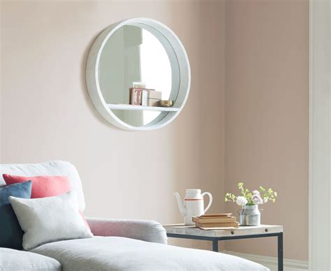 Bedroom Mirrors With Shelf by Hula Mirror In White Wall Mirror Loaf