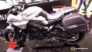 2019 Suzuki Katana Givi Accessorized - Walkaround