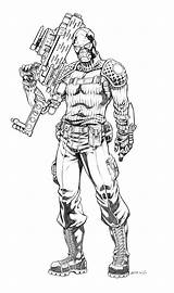 Joe Gi Coloring Plague Printable Deathstroke Grimskull Atkins Robertatkins Viper Kolorowanki Robert Deviantart Cartoon Character Drawings Comic Dzieci Dla Cobra sketch template