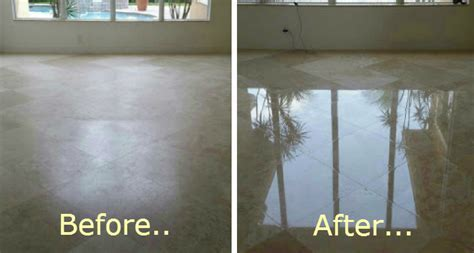 Our marble floor/countertop polishing gallery in Palm