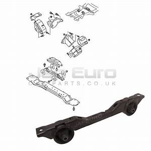 For Mitsubishi Pajero Rear Engine Gearbox Support Mount