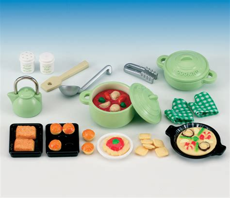 buy kitchen cooking set  sylvanian families