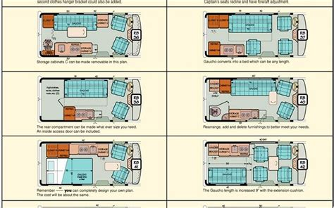 gmc motorhome floor plans