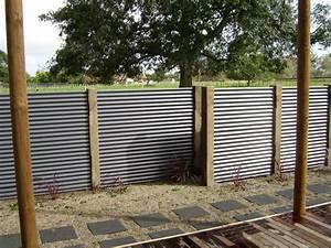 Corrugated, Metal, Fence, Decoration, Nexpeditor