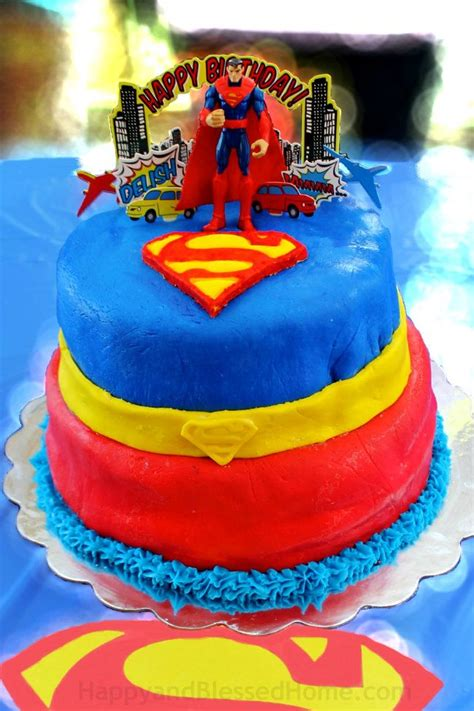 superman birthday party happy  blessed home