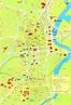 Belfast Tourist Map - Belfast Northern Ireland UK • mappery