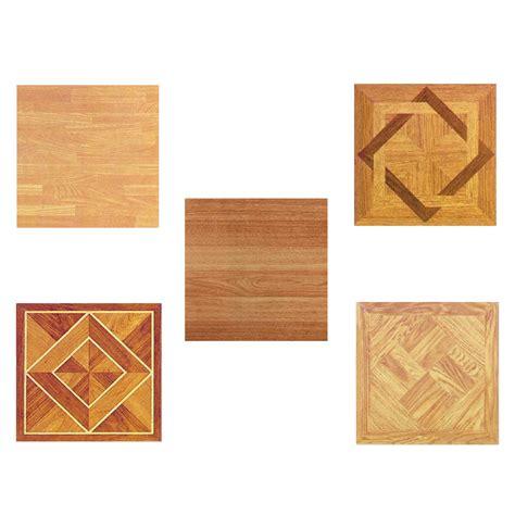 wood vinyl tiles pieces self adhesive indoor flooring