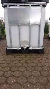 Zisterne 1000 Liter : ibc container tank regenwassertank 1000 liter zisterne lebensmittel ebay ~ Frokenaadalensverden.com Haus und Dekorationen