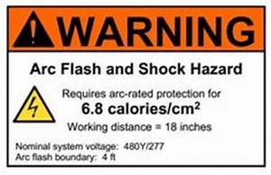 most fire extinguishers used in the hospital are class a b With arc flash labels explained