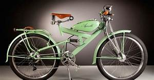 Vintage Electric Bikes From Italy Out