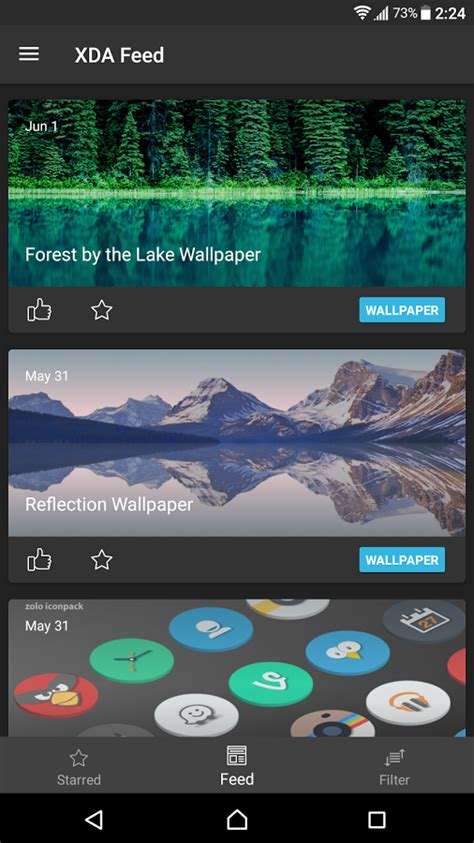 XDA Feed is a curated news source from the XDA Forums and ...