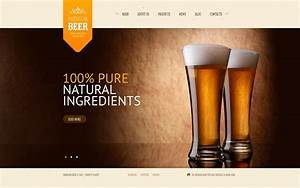 Brewery Website Template  43563