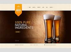 Brewery Website Template #43563