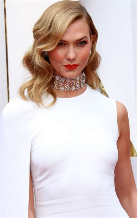 Karlie Kloss White Hot Stella Mccartney Gown Oscars