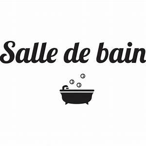 Stickers Porte Salle De Bain : stickers salle de bain stickmywall ~ Dailycaller-alerts.com Idées de Décoration