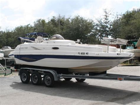 Vectra Deck Boats For Sale by Used 2003 Vectra S 209 Deck Boat Fort Myers Fl