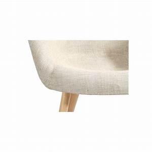 Chaise Tissu Beige : chaise anssen beige commandez nos chaises anssen beige prix discount rdv d co ~ Teatrodelosmanantiales.com Idées de Décoration
