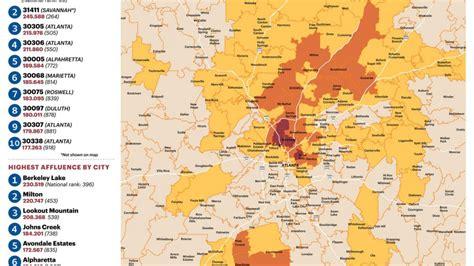 Printable Zip Code Maps Free Download Within Atlanta Zip