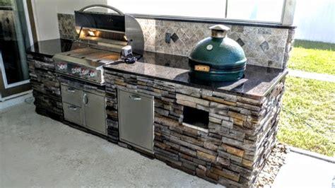green egg kitchen creative outdoor kitchens backsplash creative outdoor 1372