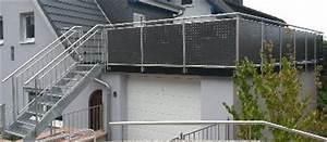 Balkongeländer Glas Anthrazit : metallbau edelstahlverarbeitung ~ Michelbontemps.com Haus und Dekorationen
