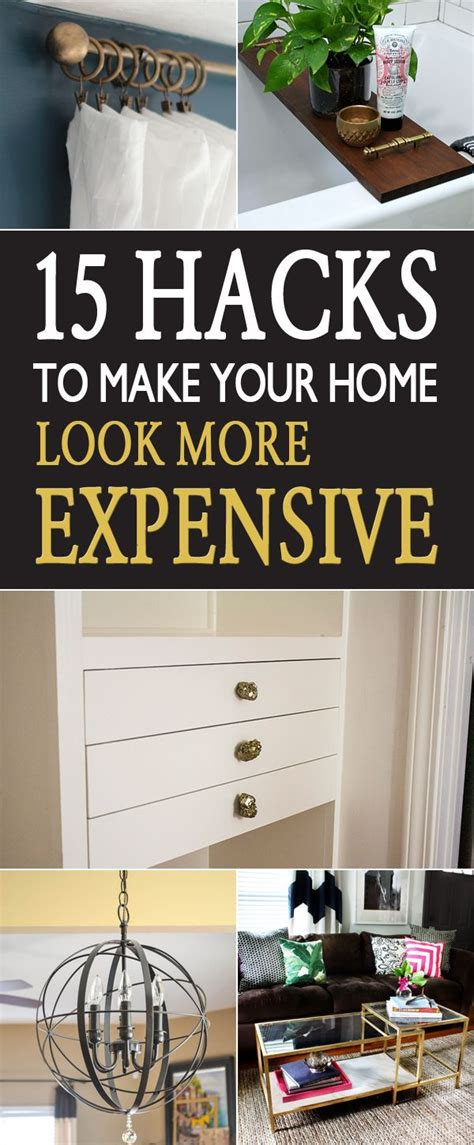15 Hacks To Make Your Home Look More Expensive Decoração