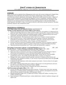 administration resume exle contracts management resume sales management lewesmr