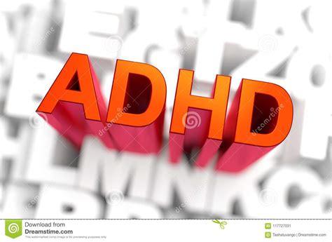 adhd problems royalty  stock image cartoondealercom