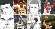 井上雄彥老師的靈感!參考NBA所畫的「灌籃高手」(15P) | 圖集 | 動網 DONGTW