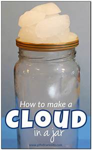 Weather Science  How To Make A Cloud In A Jar  2 Different