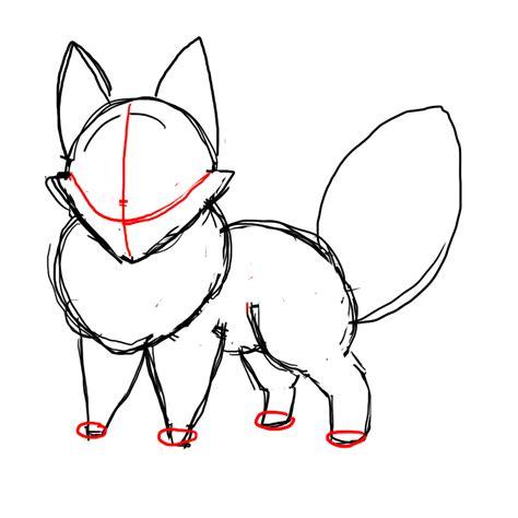 draw  chibi fox draw central