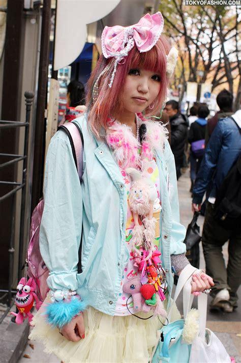 Fairy Kei Fashion Japanese Girl in Harajuku