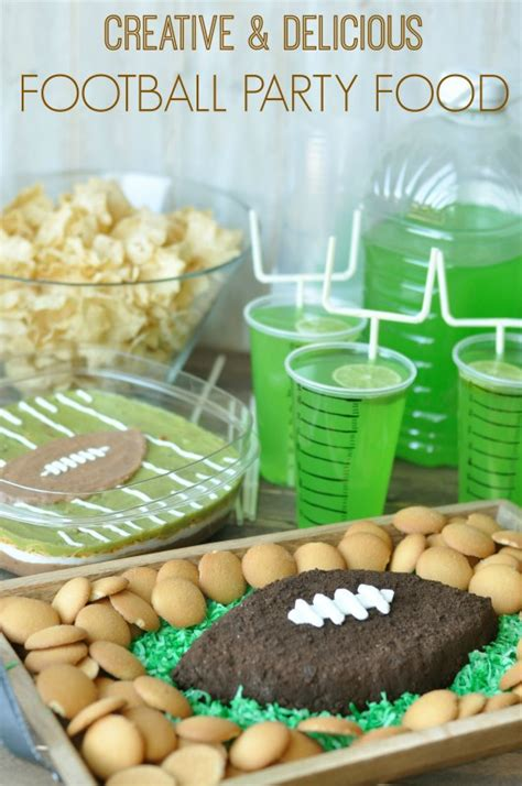 football food ideas football party food football and field layered dip creative juice
