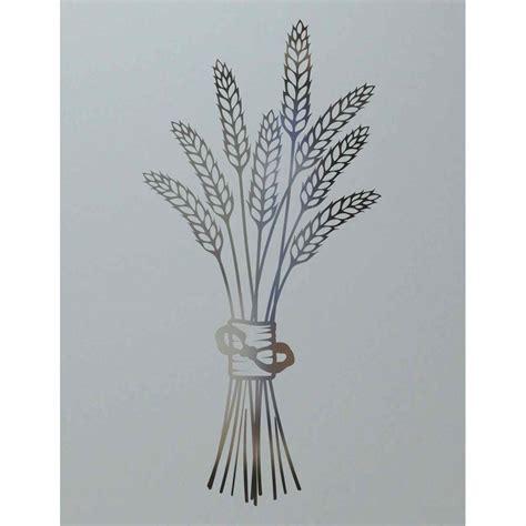 pantry doors glass design bundled wheat petite sans soucie art glass