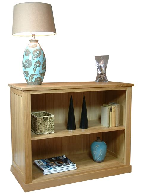 Bookcase Company by Mobel Oak Low Bookcase Living Room Furniture