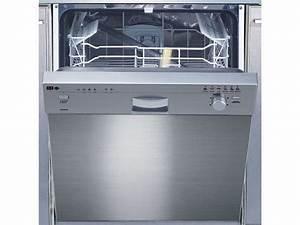 Mini Lave Vaisselle Conforama : lave vaisselle int grable bandeau silver ~ Melissatoandfro.com Idées de Décoration