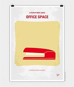 No255 My OFFICE SPACE minimal movie poster - CHUNGKONG