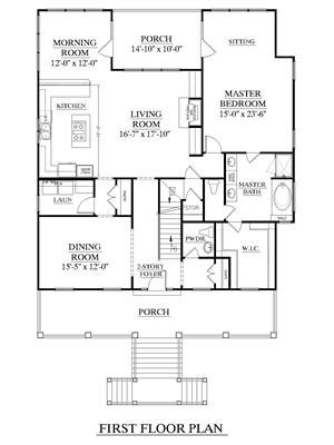 southern heritage home designs house plan    edisto