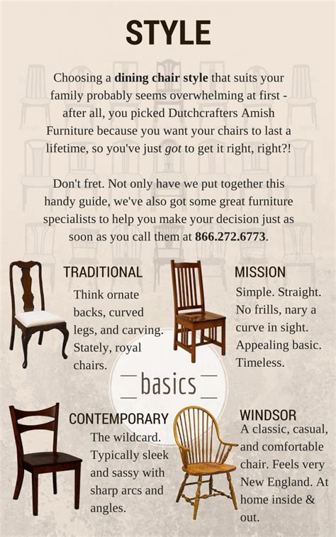 dining room chair style guide