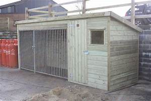 custom built dog kennel the wooden workshop oakford devon With custom made dog kennels