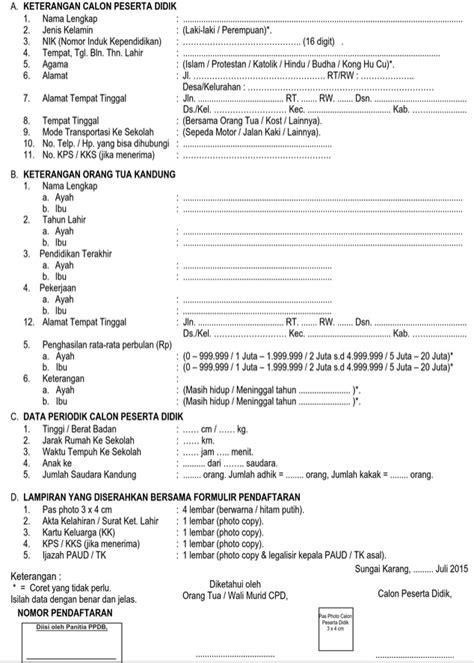 Contoh Html Registrasi - Contoh KR