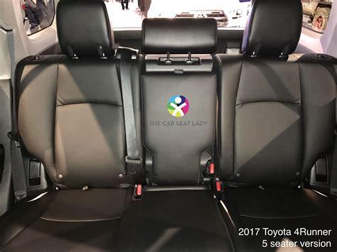 car seat lady toyota runner