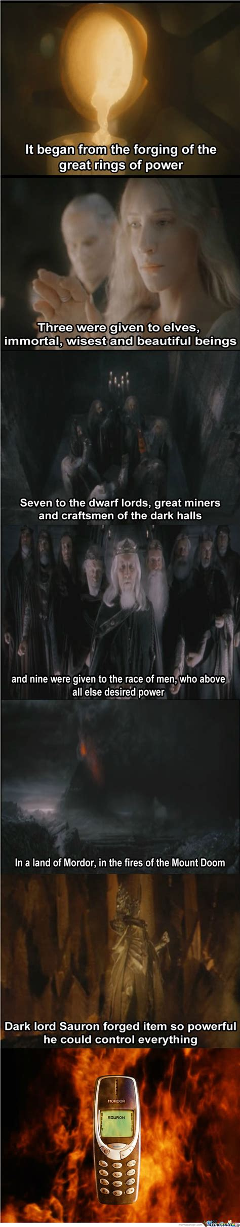 One Ring To Rule Them All Meme - one thing to rule them all by muuvinki meme center