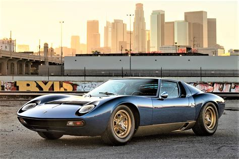 Exotic supercars, then to now, set for auction at Petersen ...