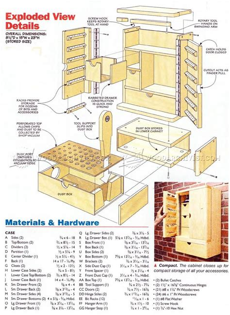 rotary tool cabinet plans workshop solutions rotary tool tool storage tools